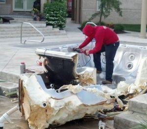 Hot Tub Removal Gilbert AZ
